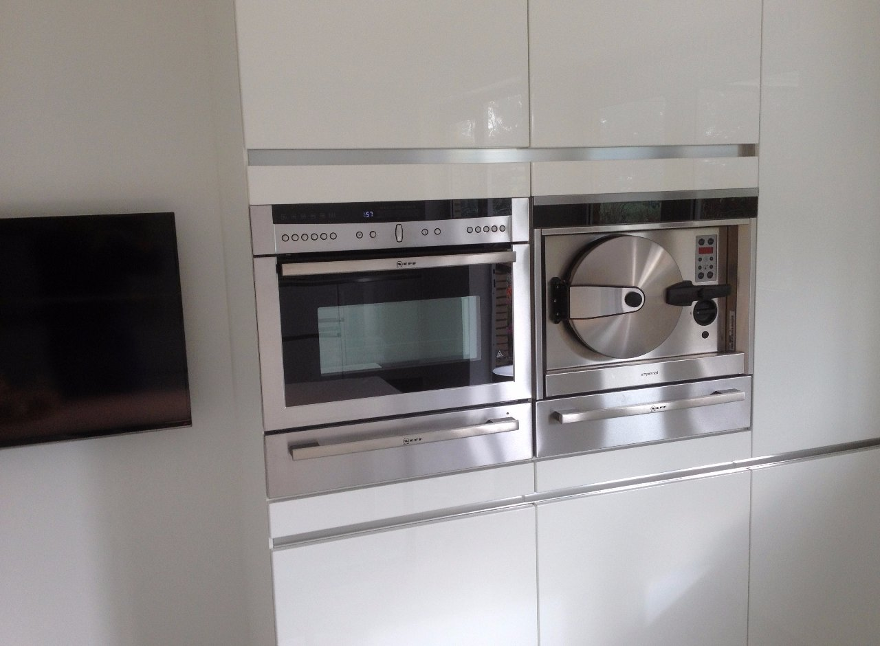 Keuken hoogglans wit - Jarin